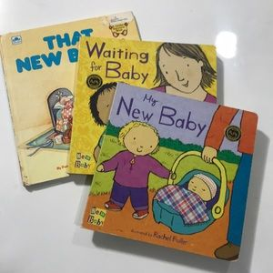 "Bundle 3 ""New Baby"" books"